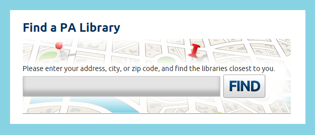 Find a PA Library Near You!